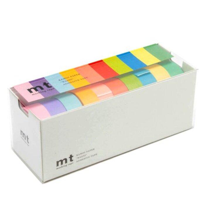 カモ井加工紙 マスキングテープ mt 10色セット