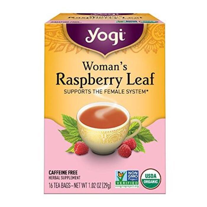 Yogi Tea ウーマンズ ラズベリーリーフ 16ティーバッグ カフェインフリー