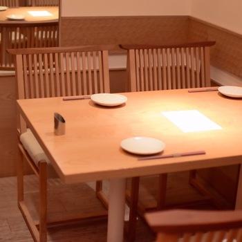 気軽に和食ランチを楽しみたい日は、ルミネ有楽町店にある「京都石塀小路 豆ちゃ 有楽町」がおすすめです。2名から利用できる完全個室は、のんびりお食事を楽しみたいママさんたちにも人気。