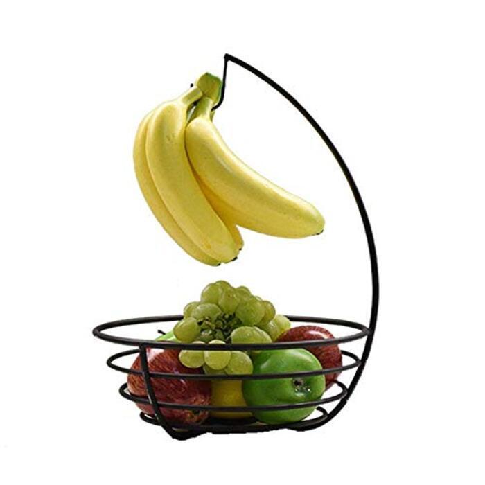 フルーツバスケットバナナスタンド 果物収納バスケット