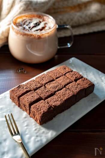チョコ レシピ 簡単 板