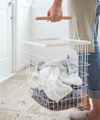 暮らしにフィットする「ランドリーバスケット」選び方&おすすめ洗濯かご