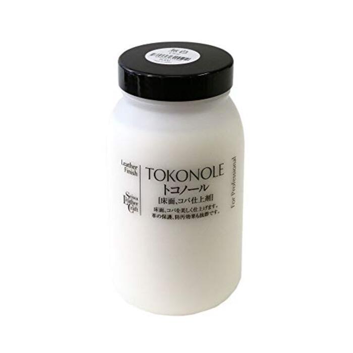 誠和 レザークラフト用 床面仕上剤 トコノール 500g 無色