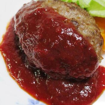 トマトケチャップを使ったちょっと甘めな「ケチャップソース」もおすすめ。大人も子供もみんな大好きなお味です。