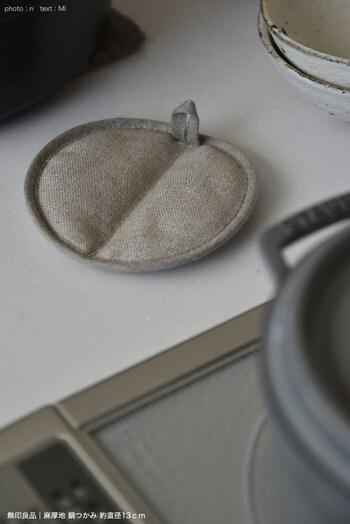 直径13cmというコンパクトで可愛らしいフォルムは、キッチンや食卓にしっくりと溶け込んでくれます。