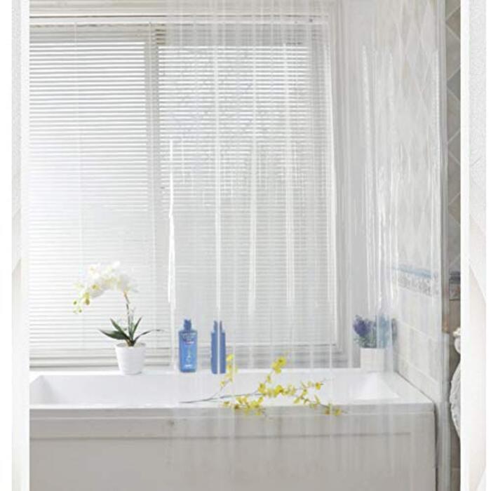 シャワーカーテン 透明