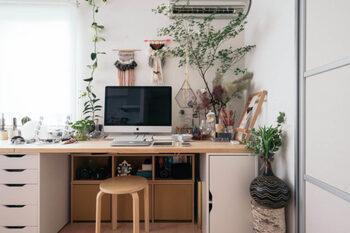 仕事がサクサクはかどる♪おしゃれで快適な「ホームオフィス」の作り方