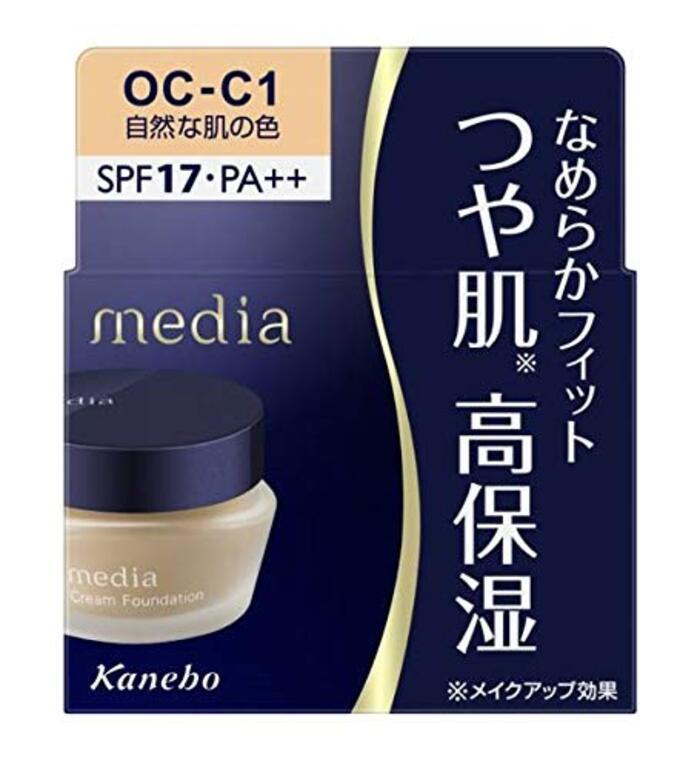メディア クリームファンデーション NOC-C1 自然な肌の色