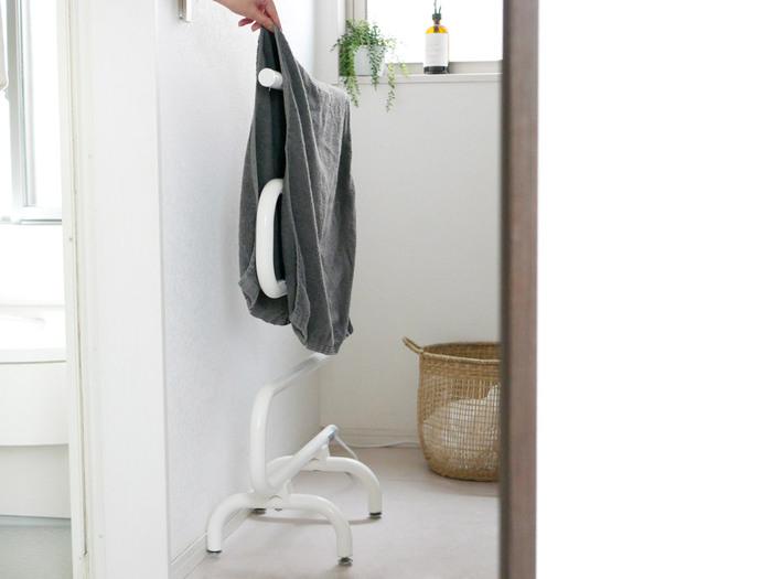 乾きにくい洗濯物のドライに使うのはもちろん、脱衣所を温めてくれるヒーター感覚で使っても◎