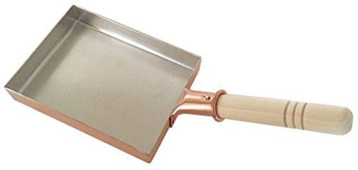 中村銅器製作所 銅製 玉子焼鍋 13長(13cm×18cm)