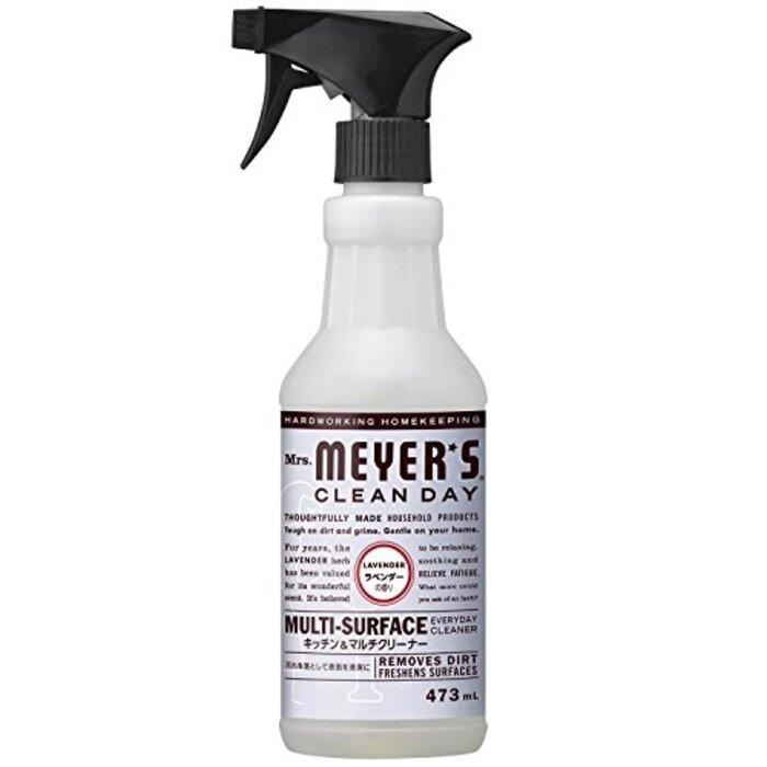 ミセスマイヤーズ クリーンデイ(Mrs.Meyers Clean Day) キッチン&マルチクリーナー ラベンダーの香り 473mL