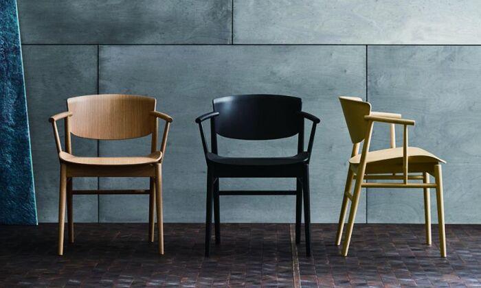デンマーク家具の中心的存在であるフリッツハンセン社の2018年の新作の椅子「NO1」。このデザインを手がけたのは、東京とミラノで活躍しているデザインオフィスnendon。プロダクトのみならず、インテリア、建築、グラフィックと幅広く手掛けているnendoならではの、時代を超えて広く愛されていきそうなタイムレスな椅子です。
