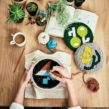 簡単で楽しい「パンチニードル」でかわいい刺繍作品を作ろう♪