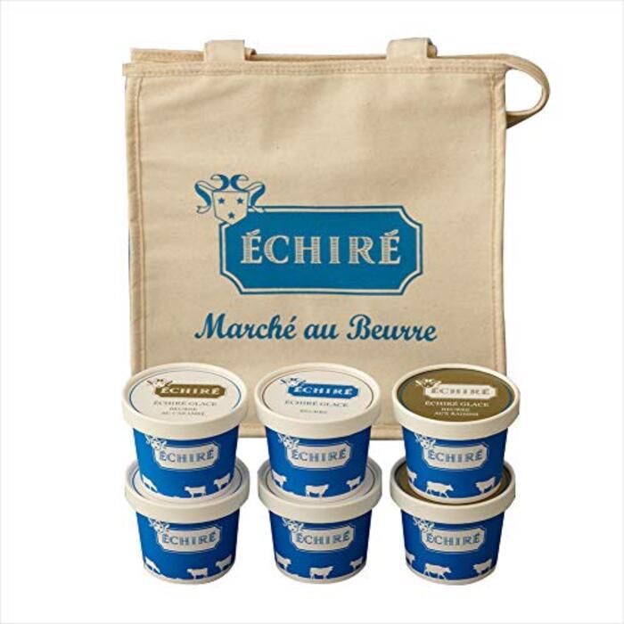 【公式】エシレグラスギフトセット (1日10個限定) アイスクリーム6個入り(エシレオリジナル保冷バッグ付き) プレゼント 詰め合わせ スイーツ 送料無料 贈り物