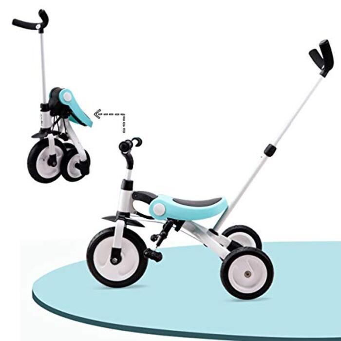 【DEARGENA】三輪車1-4歳 押し車