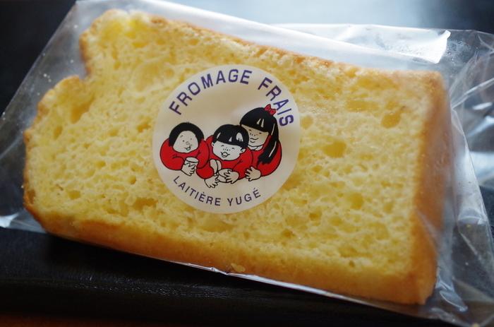 神戸の六甲山にある「弓削牧場」。お取り寄せで人気なのは、フワフワのシフォンケーキ。甘さ控えめなので、朝食としても◎