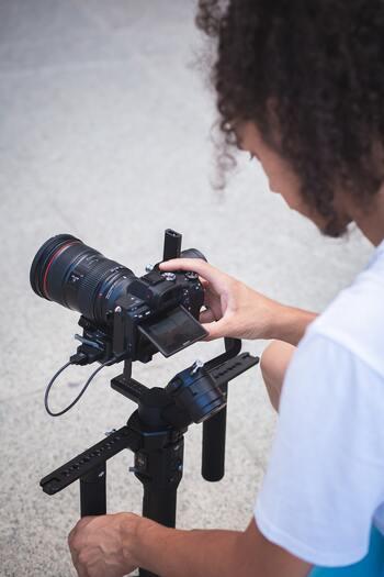 「小型ジンバル付きカメラ」デビュー*初心者さんでもステキな動画を撮るコツ