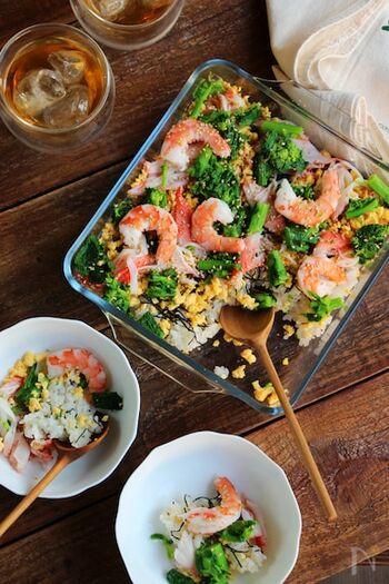 食卓が華やかになる♪春に食べたい『ちらし寿司・混ぜ寿司』のレシピ