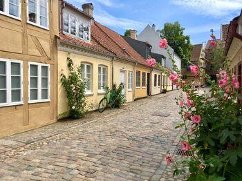 のどかで美しい街並みが美しいオーデンセの街は、デンマーク最古の都市の一つ。1654年からの4年間は、一時的にデンマーク王国の首都でもあった、歴史の刻まれた街なのです。