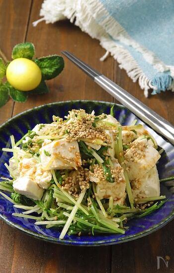 水菜 レシピ サラダ
