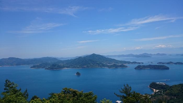 """瀬戸内海の大崎上島町。""""柑橘の島""""としても知られるこの地で、国を挙げて最先端のエコな発電が研究されています(写真提供:広島県)"""