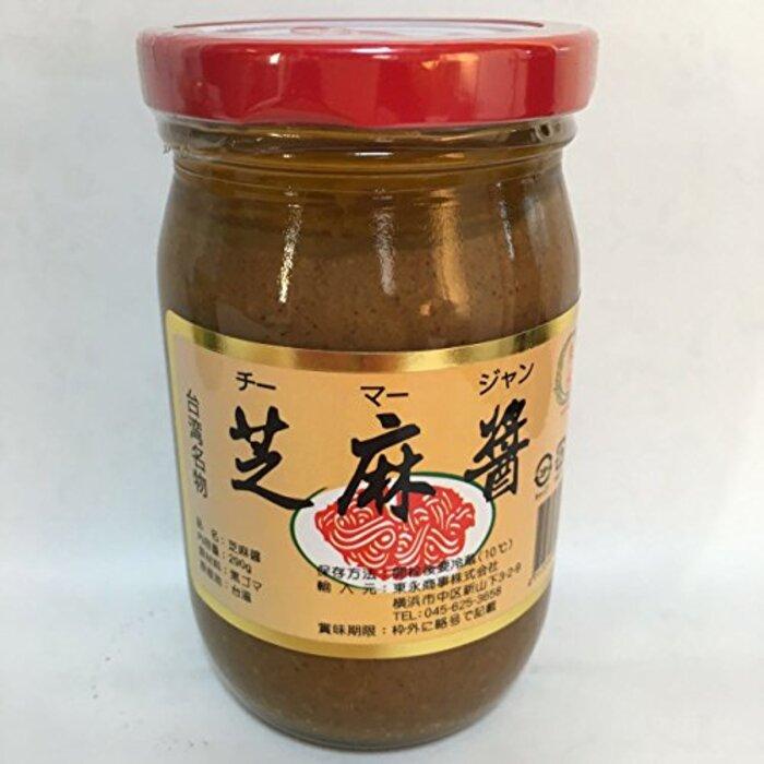 台湾芝麻醤 ゴマ醤 胡麻味噌 チーマージャン 中華調味料 290g