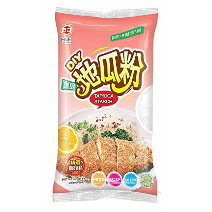 横浜中華街 日正 地瓜粉(さつまいもでん粉)業務用 400g/袋