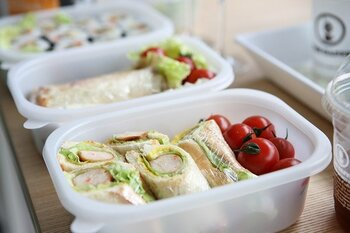昼食のお供に♪簡単ランチバッグ&カトラリーケースの作り方