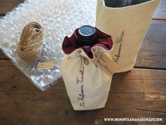 サイズを変えたり刺繍を施したりすれば、おしゃれなラッピングバッグにも変身します。大切なプレゼントを贈る際は、こんな風にアレンジしてみてください。