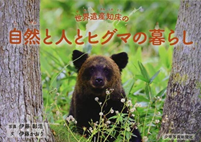 世界遺産知床の自然と人とヒグマの暮らし (少年写真絵本)