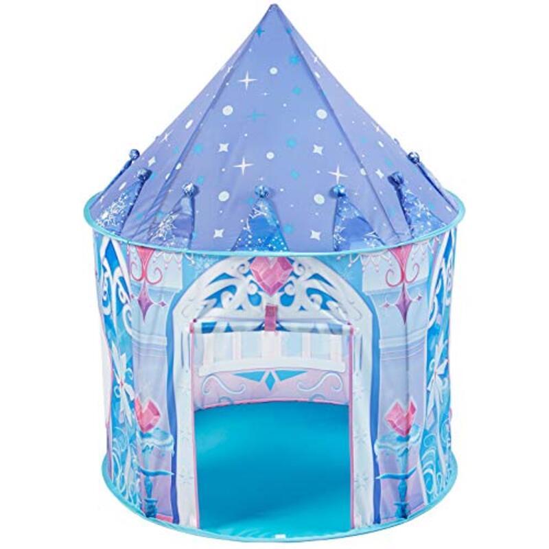 キッズテント 折り畳み式 ブルー