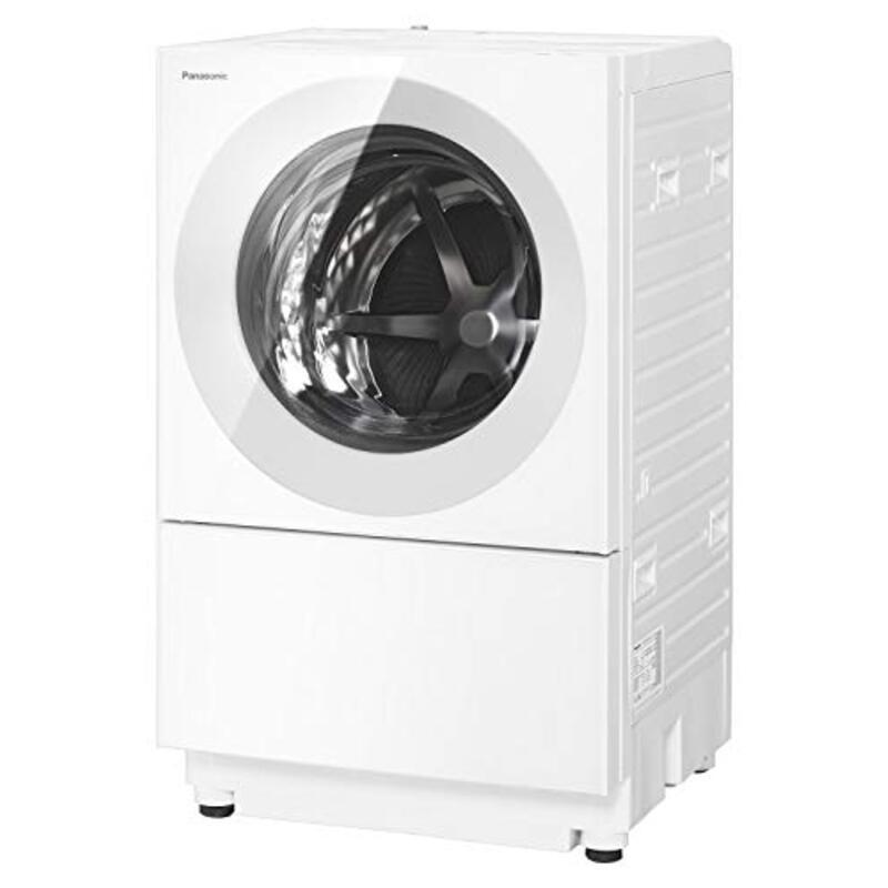 パナソニック ななめドラム洗濯乾燥機 Cuble(キューブル) 7kg マットホワイト