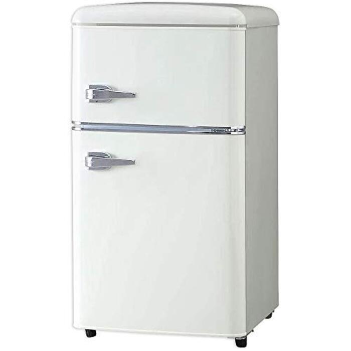 ノンフロン冷凍冷蔵庫 81L オフホワイト