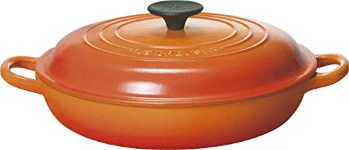 ル・クルーゼ ビュッフェ・キャセロール 26 cm オレンジ