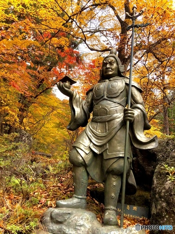 「毘沙門天(びしゃもんてん)」(榛名神社)