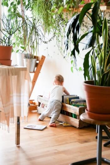 いかがでしたか?表紙が見えるもの、おもちゃ収納付きのもの、スタンダードなものなど、様々な本棚がありました。リビングや子供部屋など、子供がよく生活する空間に本棚があることで、より興味もわくようになります。本棚のタイプと置く場所を加味しながら、ぜひ絵本のあるあたたかい空間をつくってみませんか?