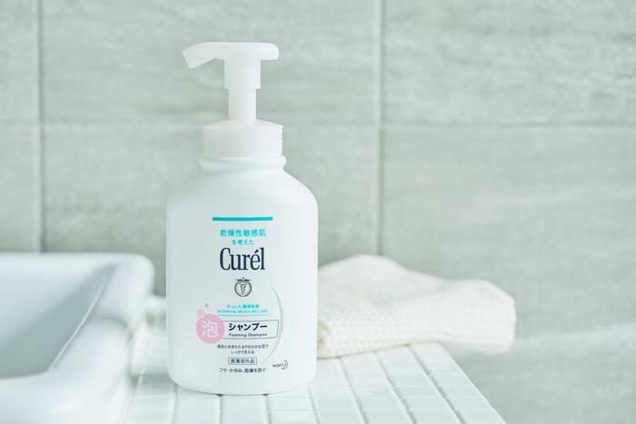 【医薬部外品】フケ・かゆみを防ぐ(消炎剤配合) 販売名『Cure'l泡シャンプー』