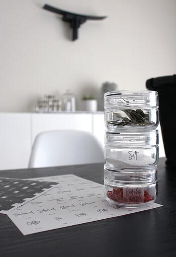 使い勝手良く、おしゃれなキッチンに。ブロガーさんの「詰め替え」アイデア集