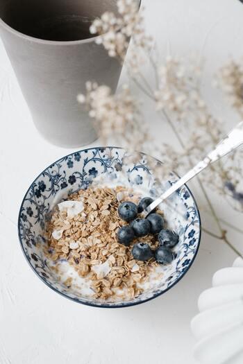 美味しく食べて糖質オフ!【オートミール】のおすすめレシピ