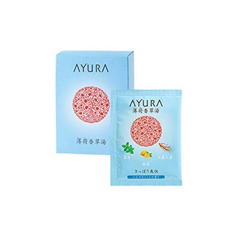 アユーラ (AYURA) 薄荷香草湯 〈 浴用 入浴剤 〉 さっぱり爽快 (25g×10包)