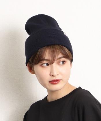 ショートといえば、帽子が合う!特にこの季節ニット帽との相性は抜群です♡