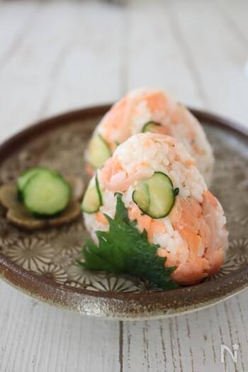 新しょうがの酢漬けを使って、さっぱりとしたお寿司のような味わいに。暑い日や食欲がない日でもエネルギーチャージできそうですね。