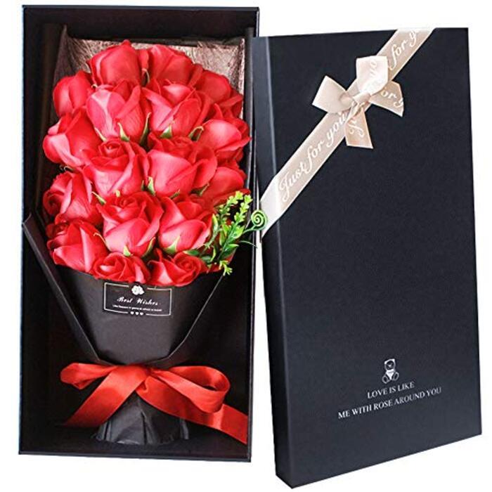 ソープフラワー プレゼント 開店祝い 母の日 LangRay 花束