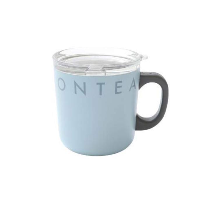 [ アフタヌーンティー リビング ] AfternoonTea LIVING マグカップ GU56 ロゴワークスフタ付きステンレスマグカップ ブルー