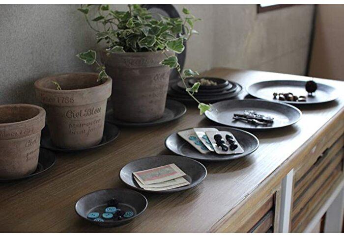 SPICE OF LIFE(スパイス) 皿 ブリキ ラウンドトレイ