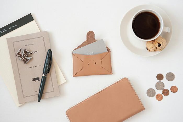 ICカードや名刺入れ…小物で差がつく大人の「カードケース」セレクション♪