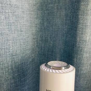 アロマ式加湿器なら、オイルの代わりに香水を少量入れるのもおすすめです。