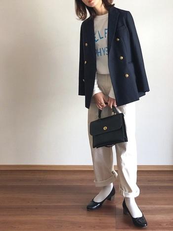 ジャケットやパンツで。「白Tコーデ」を格上げする5つの法則