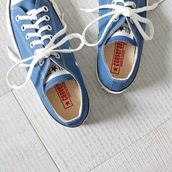 インソール部分にまで「Made in Japan」の刻印が!細かな部分にまでこだわりを感じます。履くたびに愛着が湧きますね。