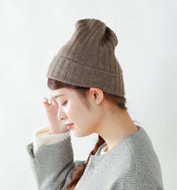 髪型で冬の「ニット帽スタイル」をもっと可愛く♪簡単おしゃれなヘアアレンジ集